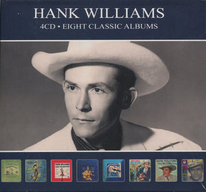 Hank Williams - Eight Classic Albums   (New CD)
