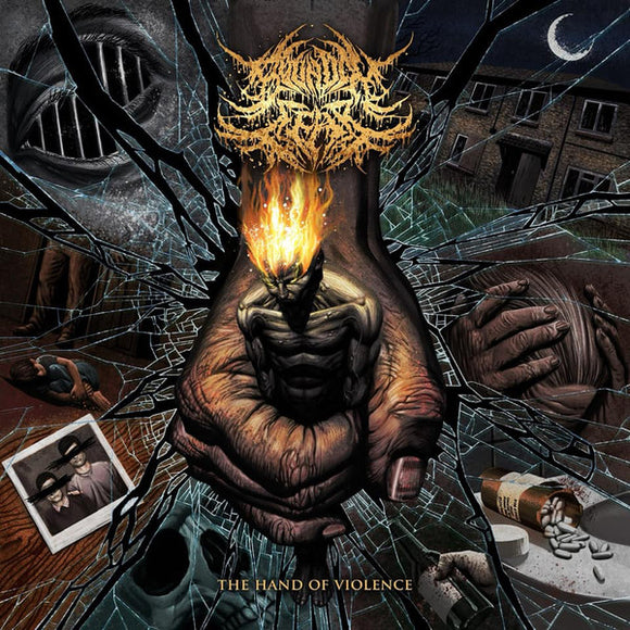Bound in Fear - The Hand of Violence  (New CD)