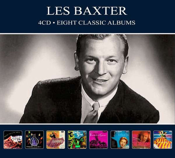 Les Baxter ‎- Eight Classic Albums [Import]  (New CD)
