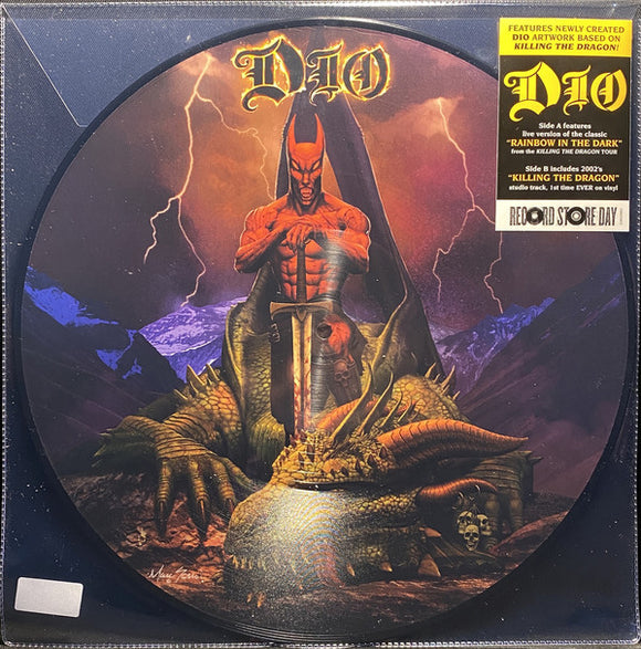 Dio -  Rainbow In The Dark (Live) / Killing The Dragon [Picture Disc]  (New Vinyl LP)