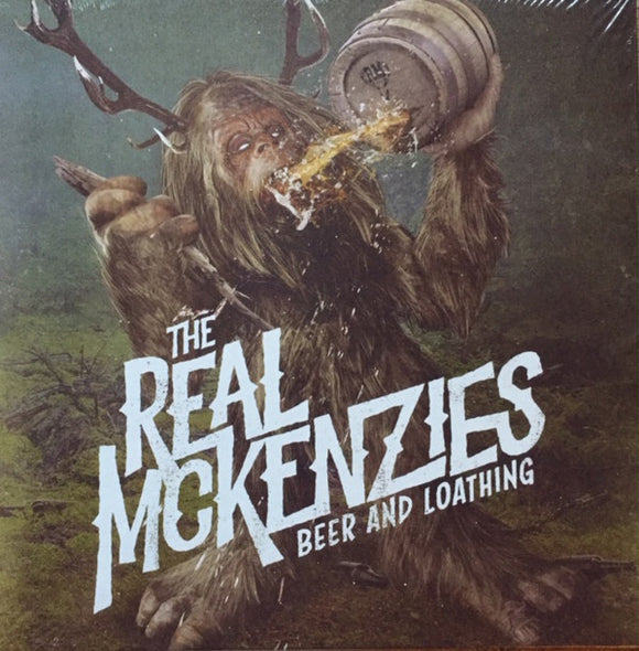 The Real McKenzies - Beer And Loathing  (New CD)