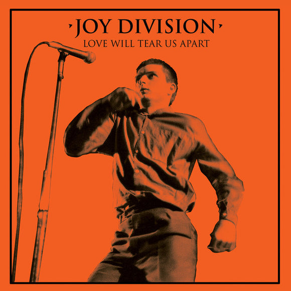 "Joy Division - Love Will Tear Us Apart 12"" Single in a Gatefold Jacket - Halloween Edition  (New Vinyl LP)"