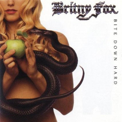 Britny Fox - Bite Down Hard  (Used CD)