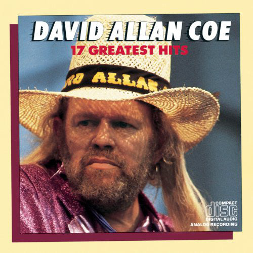 David Allan Coe - 17 Greatest Hits   (Used CD)