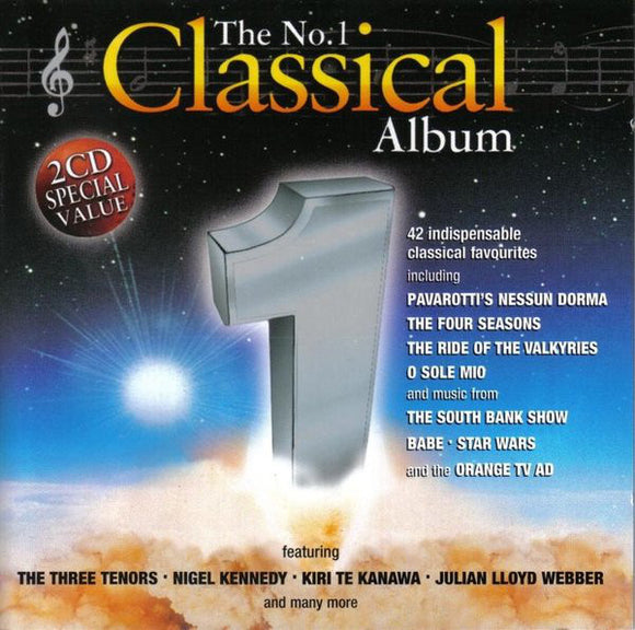 Various Artists - The No.1 Classical Album  (Used CD)