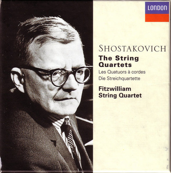 Shostakovich - Fitzwilliam String Quartet ‎– The String Quartets  (Used CD Box)