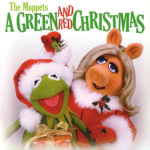 The Muppets ‎- A Green And Red Christmas  (Used CD)