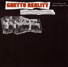 Nancy Dupree - Ghetto Reality  (New Vinyl LP)
