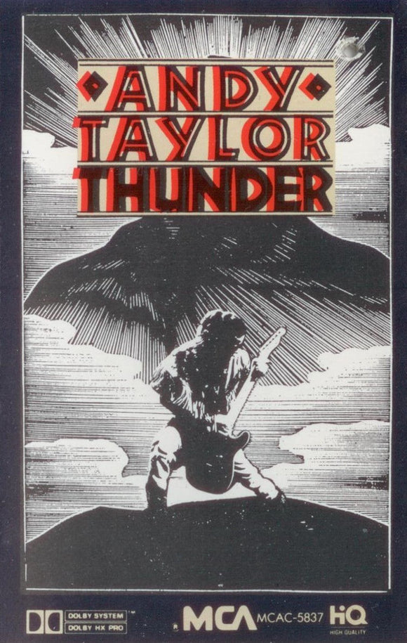 Andy Taylor - Thunder  (Cassette)