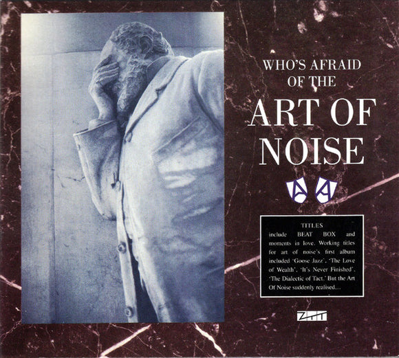 Art of Noise - Who's Afraid Of The Art Of Noise  (New CD/DVD)
