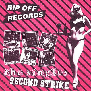 Various Artists - Ripp Off Records: The Singles-Second Strike  (Used CD)