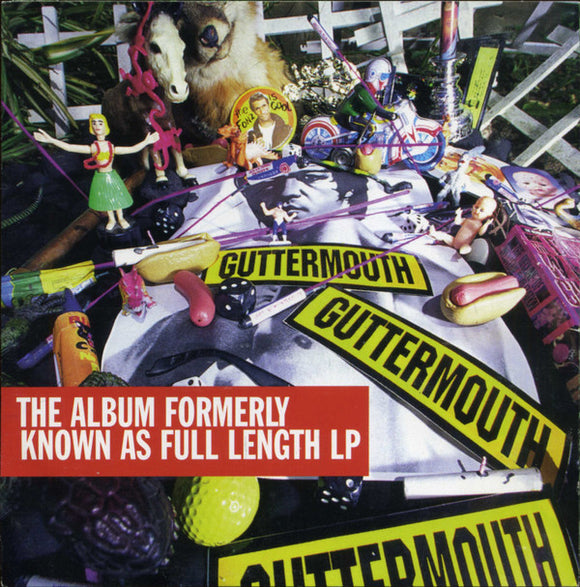 Guttermouth - The Album Formerly Known As Full Length LP  (Used CD)