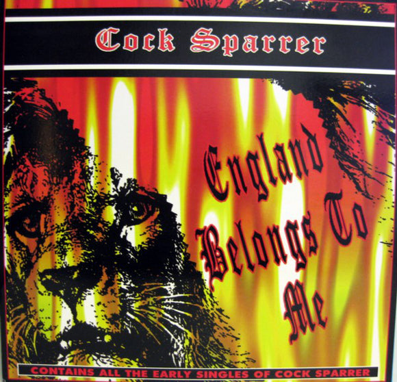 Cock Sparrer ‎– England Belongs To Me  (New Vinyl LP)