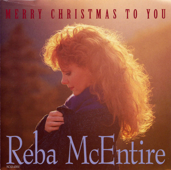 Reba McEntire ‎- Merry Christmas To You  (Used CD)