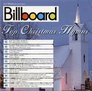 Various Artists ‎- Billboard Top Christmas Hymns  (Used CD)