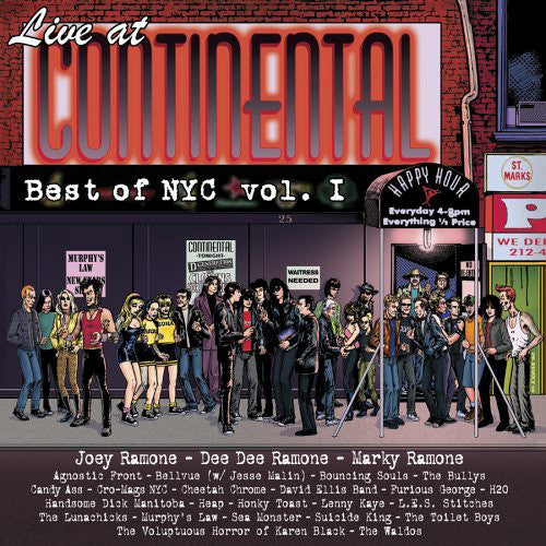 Various Artists ‎- Live At Continental: Best Of NYC Vol. I  (Used CD)