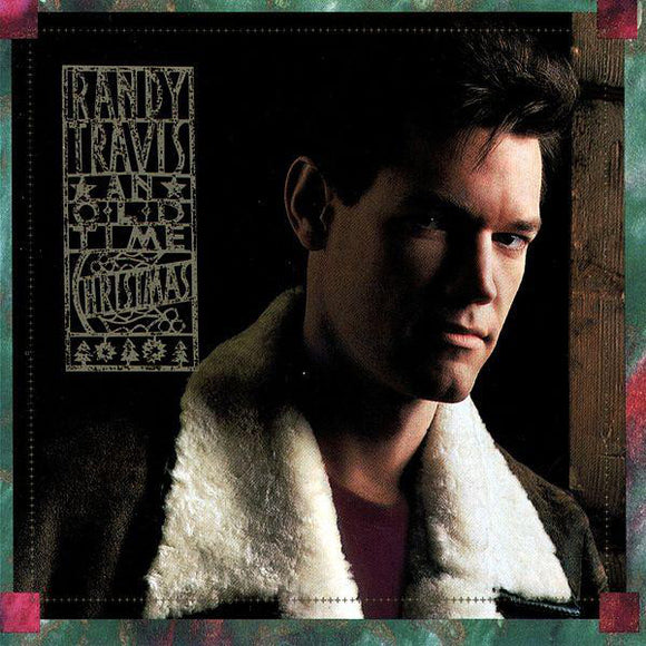 Randy Travis ‎- An Old Time Christmas  (Used CD)