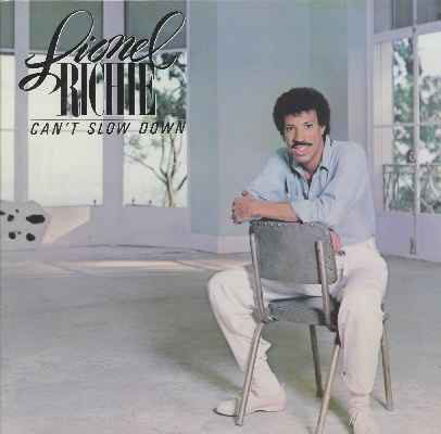 Lionel Richie - Can't Slow Down  (Used CD)