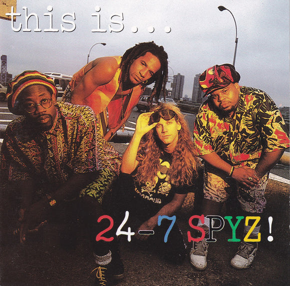 24-7 Spyz - This is ... 24-7 Spyz (Used CD)