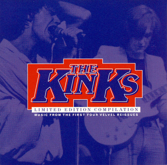 The Kinks ‎-  Limited Edition Compilation  (Used CD)