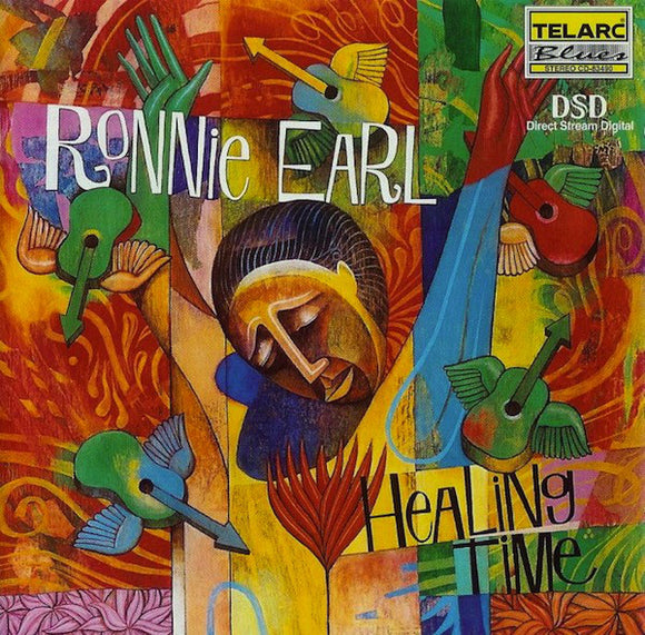 Ronnie Earl - Healing Time  (Used CD)