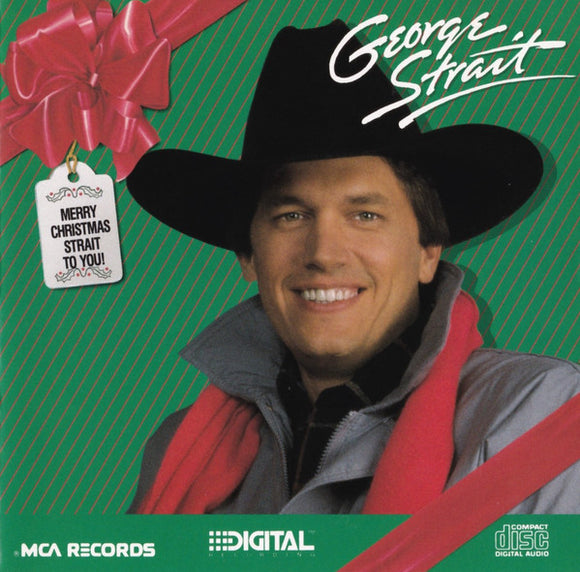 George Strait ‎- Merry Christmas Strait To You  (Used CD)