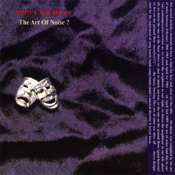 Art of Noise - Who's Afraid Of The Art Of Noise  (Used CD)