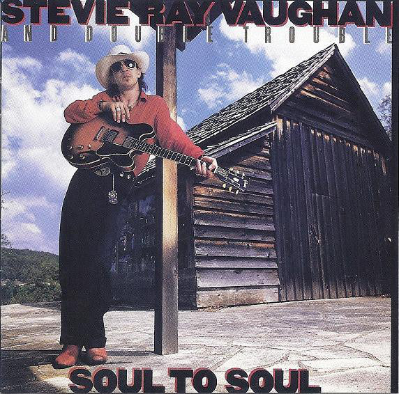 Stevie Ray Vaughan - Soul to Soul  (Used CD)