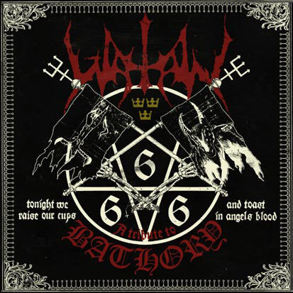 Watain - Tonight We Raise Our Cups and Toast in Angel's Blood (Used Vinyl LP)