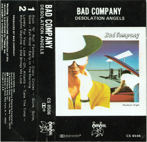 Bad Company - Desolation Angels  (Cassette)