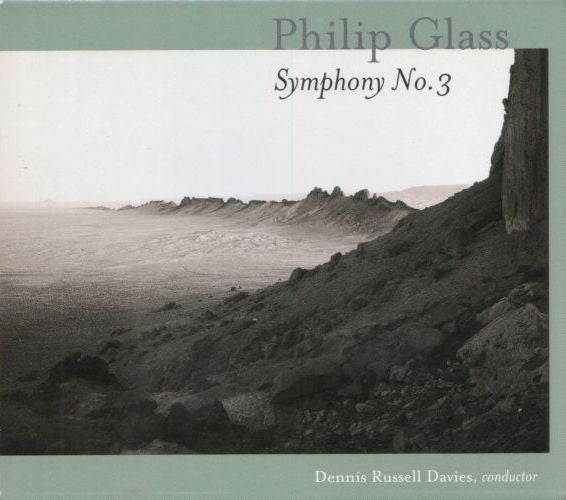 Philip Glass -  Symphony No. 3  (Used CD)