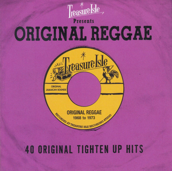 Various Reggae - Original Reggae - 40 Original Tighten Up Hits  (Used CD)