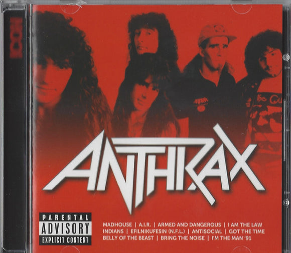 Anthrax - Icon - Anthrax (New CD)