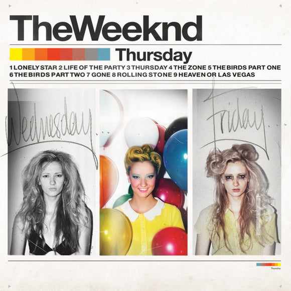 Weeknd - Thursday  (New Vinyl LP)