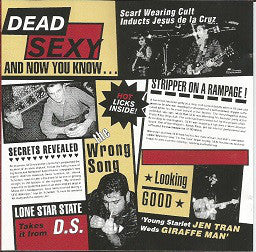 Dead Sexy - And Now You Will Know...  (New CD)