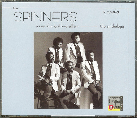 The Spinners ‎- A One Of A Kind Love Affair (The Anthology)  (Used CD)