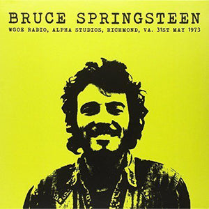 Bruce Springsteen - WGOE Radio, Alpha Studios, Rich  (New Vinyl LP)