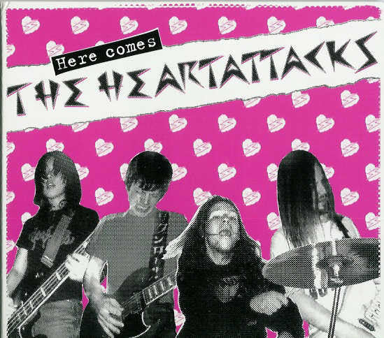 The Heartattacks - Here Comes  (Used CD)