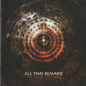 All That Remains - The Order of Things (New CD)