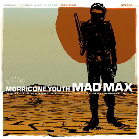 Morricone Youth ‎– Mad Max  (New Vinyl LP)