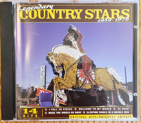 Various Artists - Legendary Country Stars 1959-1978  (Used CD)