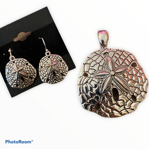 Pendant Set - Sand Dollar