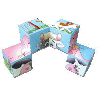 Farm Animals Soft Puzzle Block