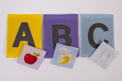 ABC Sandpaper Alphabet with Matching Pictures