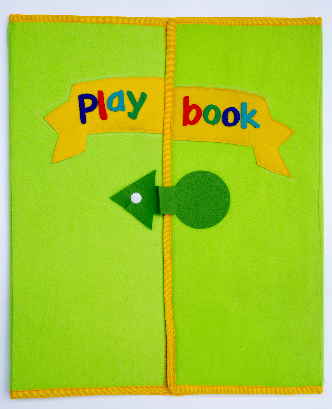 Large Felt Play Book with Loop Material for Felt Sets