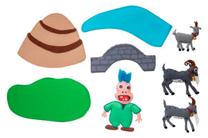NEW! The Three Billy Goats Gruff Felt Set