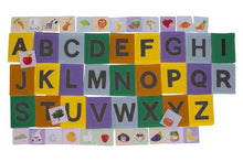 Sandpaper Alphabet with Matching Pictures