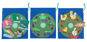 Life Cycle of the Frog Felt Set