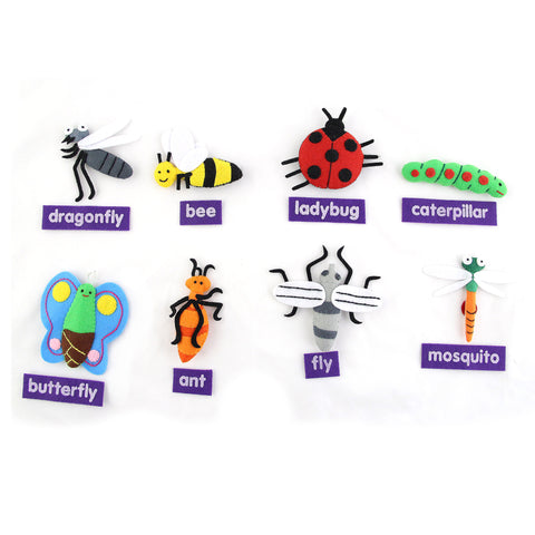 Backyard Bugs Character Set