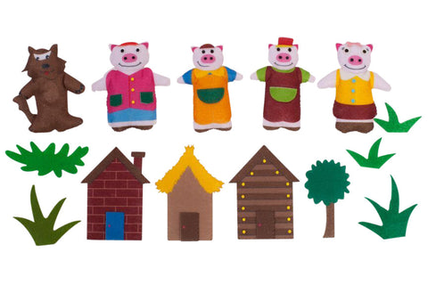 "The ""Three Little Pigs"" Character Set"